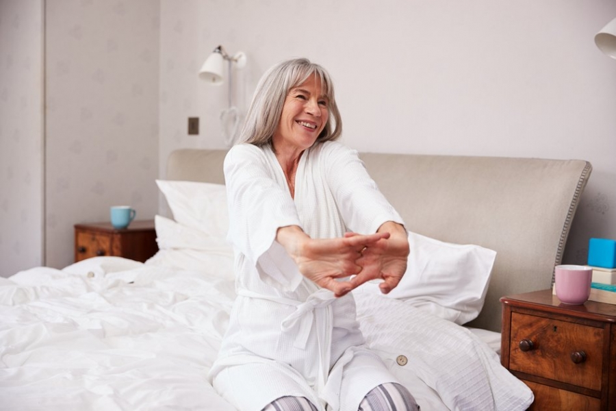 How to Sleep Better at Midlife