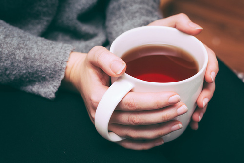 Brew a cup of tea as a morning ritual